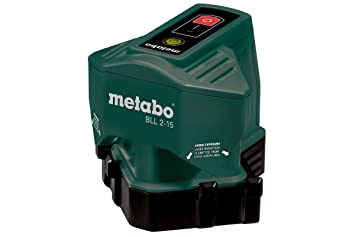 Laser Entfernungsmesser Linienlaser : Metabo 606165000 linienlaser bodenlinienlaser bll 2 15