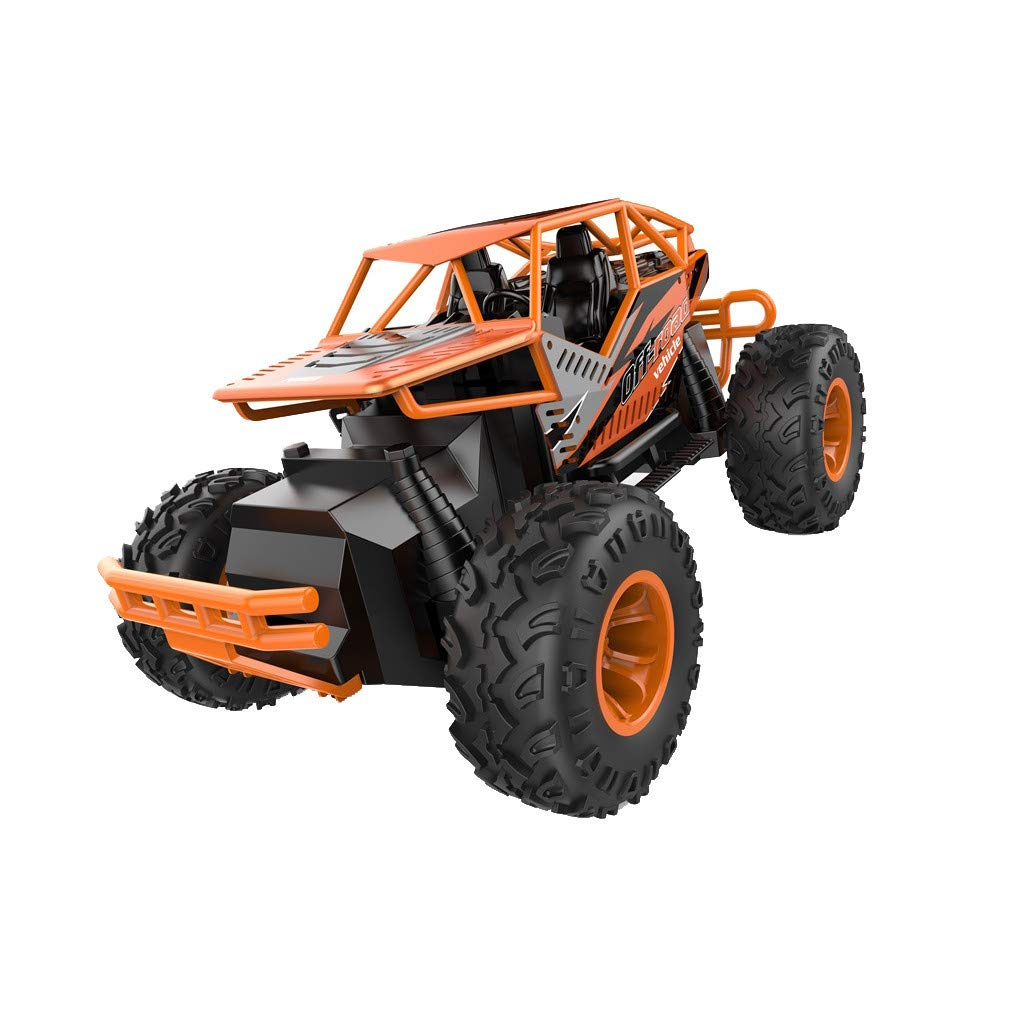 1/16 RC Rock Crawler Two-Wheel Drive Off Road RC Racing Car High Speed Remote Control Rock Crawlers Alloy RC Climbing Car for Adults Buggy Toy Cars