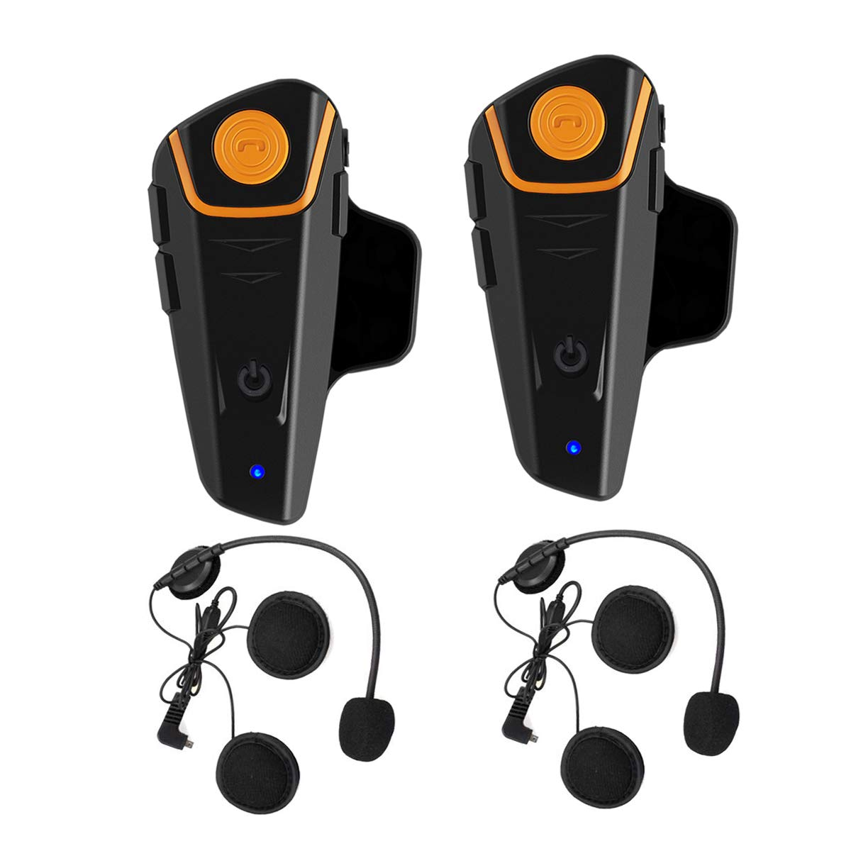 5c23dbb5e54 ... WingSport BT-S2 Motorcycle Helmet Bluetooth Headset Intercom  Communication Headset Waterproof Wireless Interphone Walkie Talkie