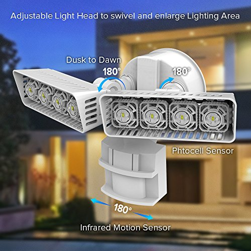 Top 10 Best Security Landscape Outdoor LED Flood Lights Reviews 2018-2019