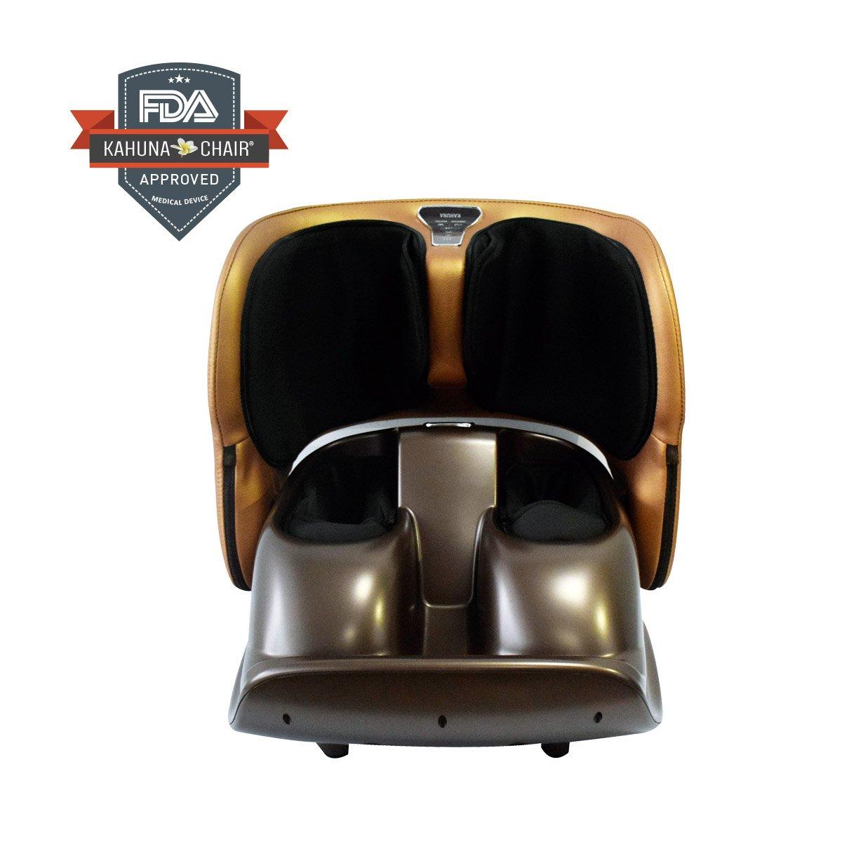 Compact Portable Kahuna Foot Massager PAU - Brown