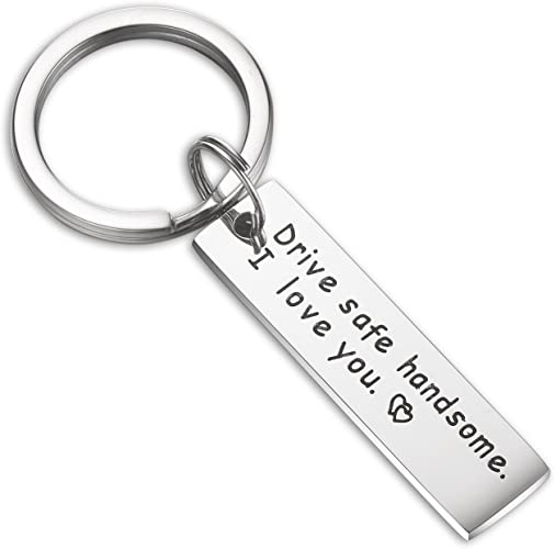 ENSIANTH To My Woman I Love You Keychain Gift for Wife Girlfriend I was a Little Late to be Your First Anniversary Valentines Day Birthday Gift for Her