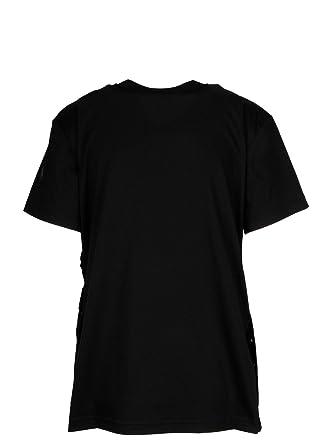 MONCLER Femme 8050000809CR999 Noir Polyester T-Shirt  Amazon.fr ... e2efe4c678e