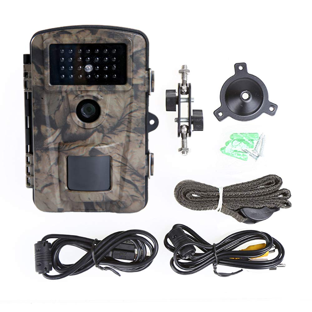 Siensen Trail Camera 12MP 1080P 2.4'' LCD Wildlife Hunting Camera with 90° Wide Angle, Night Vision Up to 65ft/20m, IP66 Waterproof Design Wildlife Surveillance Game Camera by Siensen (Image #9)