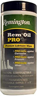 product image for Remington (18922) Oil Pro3 Premium Lubricant & Protectant 60 Ct Pop Up Wipes,Black