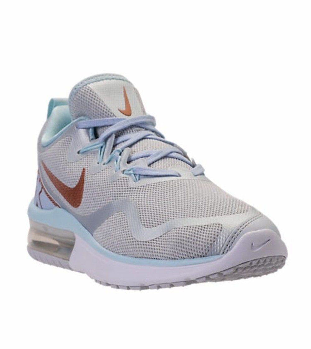 Galleon - NIKE Women s Shoes Air Max Fury Sneakers Pure Platinum Metallic  Red Bronze Glacier Blue AA5740 005 (9.5 B (M) US) 6cea4dea8