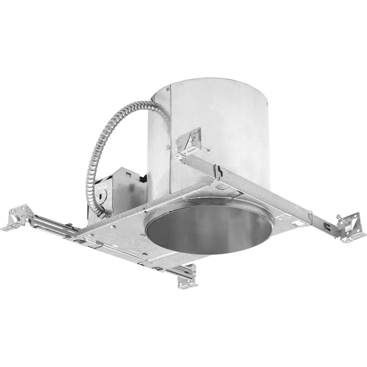 Progress Lighting P87-ATQC Quick Connect Unit Can Be Installed in Ceilings from 1/2-Inch to 1-1/2-Inch Thick Heavy Duty Mounting Frame