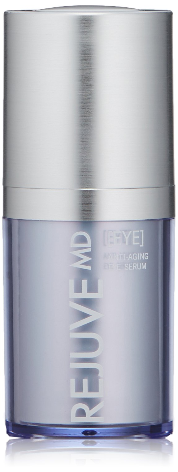 RejuveMD Growth Factor Anti-Aging Eye Serum for fine lines, wrinkles, loss of elasticity, radiant, lifted, smooth skin, Fresh Botanical, 0.5 Fl Oz