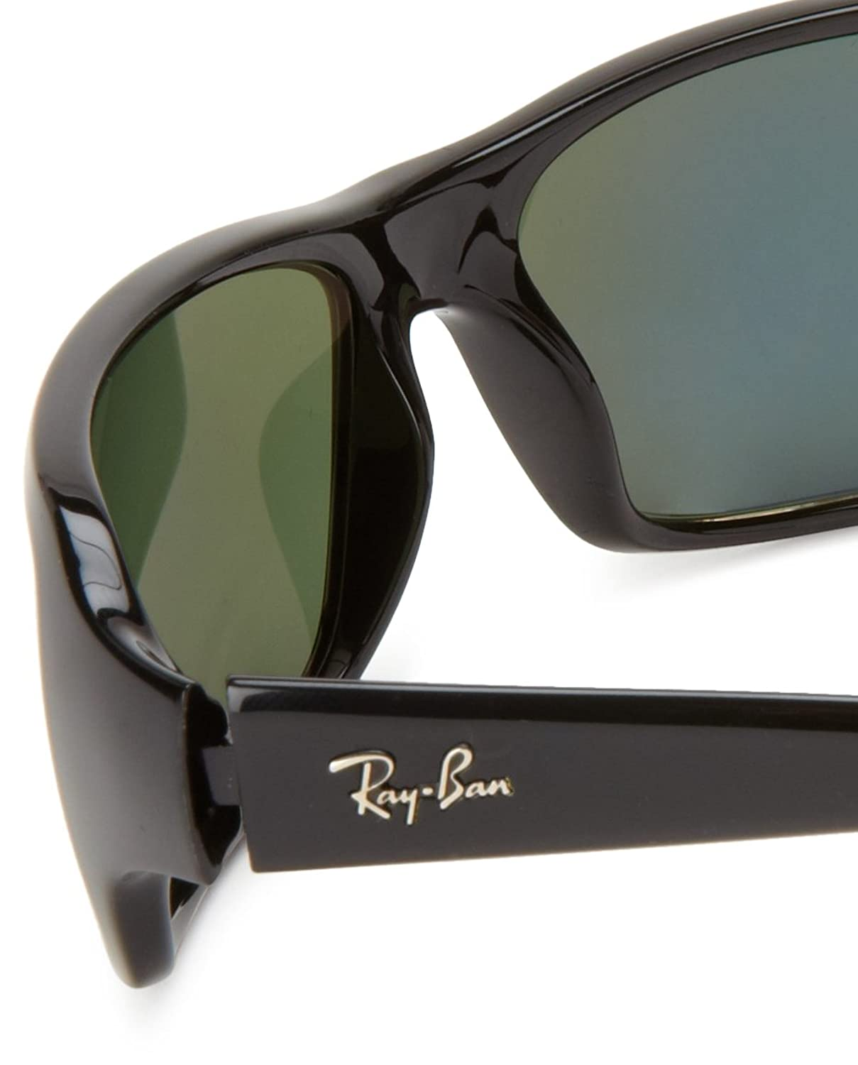 ray ban 4150  Amazon.com: Ray-Ban RB4075 Highstreet Polarized Sunglasses, Glossy ...