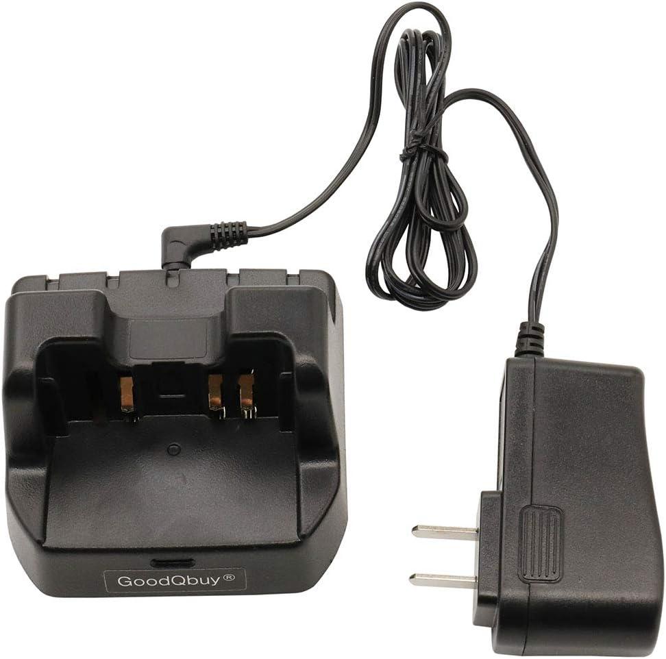 GoodQbuy CD-41 Desk Rapid Charger Li-ion Battery Charger is Compatible with Yaesu VX-8R VX-8E VX-8DR VX-8DE VX-8GR FT-1DR FT1DR FT2DR Radio