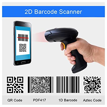 PEGASUS PS3160 2D QR Barcode Scanner USB