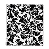 Avery Durable View Binder 1in Round Rings - Black & White Damask Deal