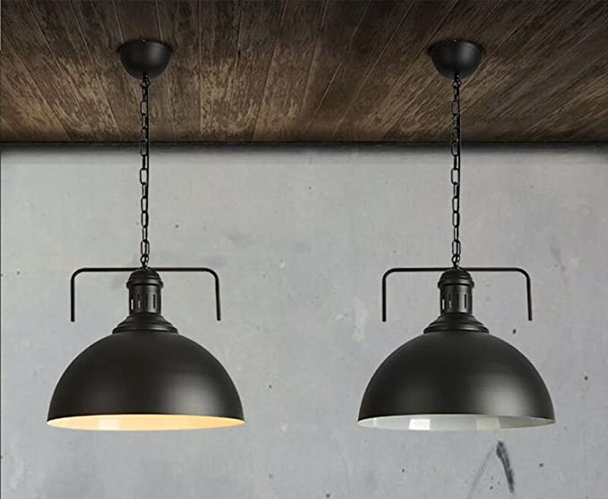 Plafoniere Industriali Diametro 30 : Sanlise industriale vintage led lampada a sospensione lampadario