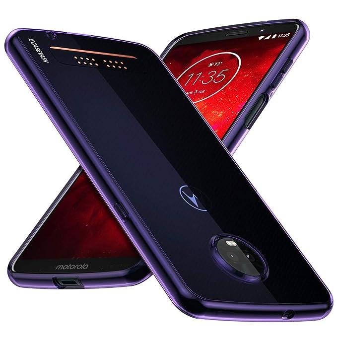 Moto Z3 Play Case, Moto Z3 Case, CASEVASN [A Prueba de ...
