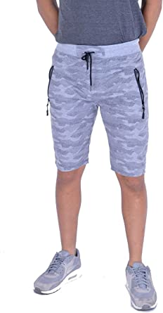 MyMixTrendz® HOMBER Boys Unisex Athletic Side Zip Ligero Pantalones Cortos para Correr