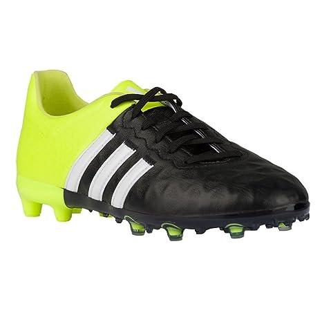 15c64928853e8 Amazon.com: adidas ACE 15.1 FG/AG Leather Junior Soccer Cleats (4 ...