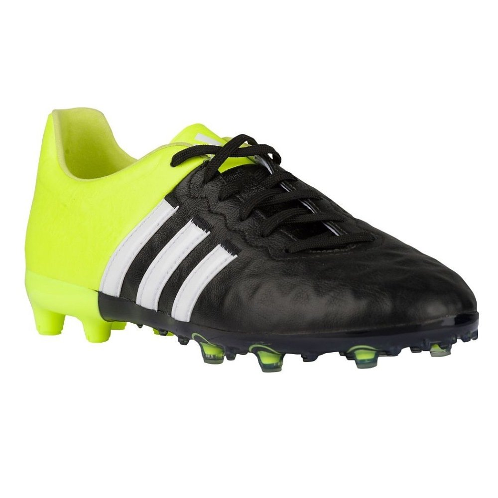 best sneakers 77015 41c49 Amazon.com   adidas ACE 15.1 FG AG Leather Junior Soccer Cleats (4)   Soccer