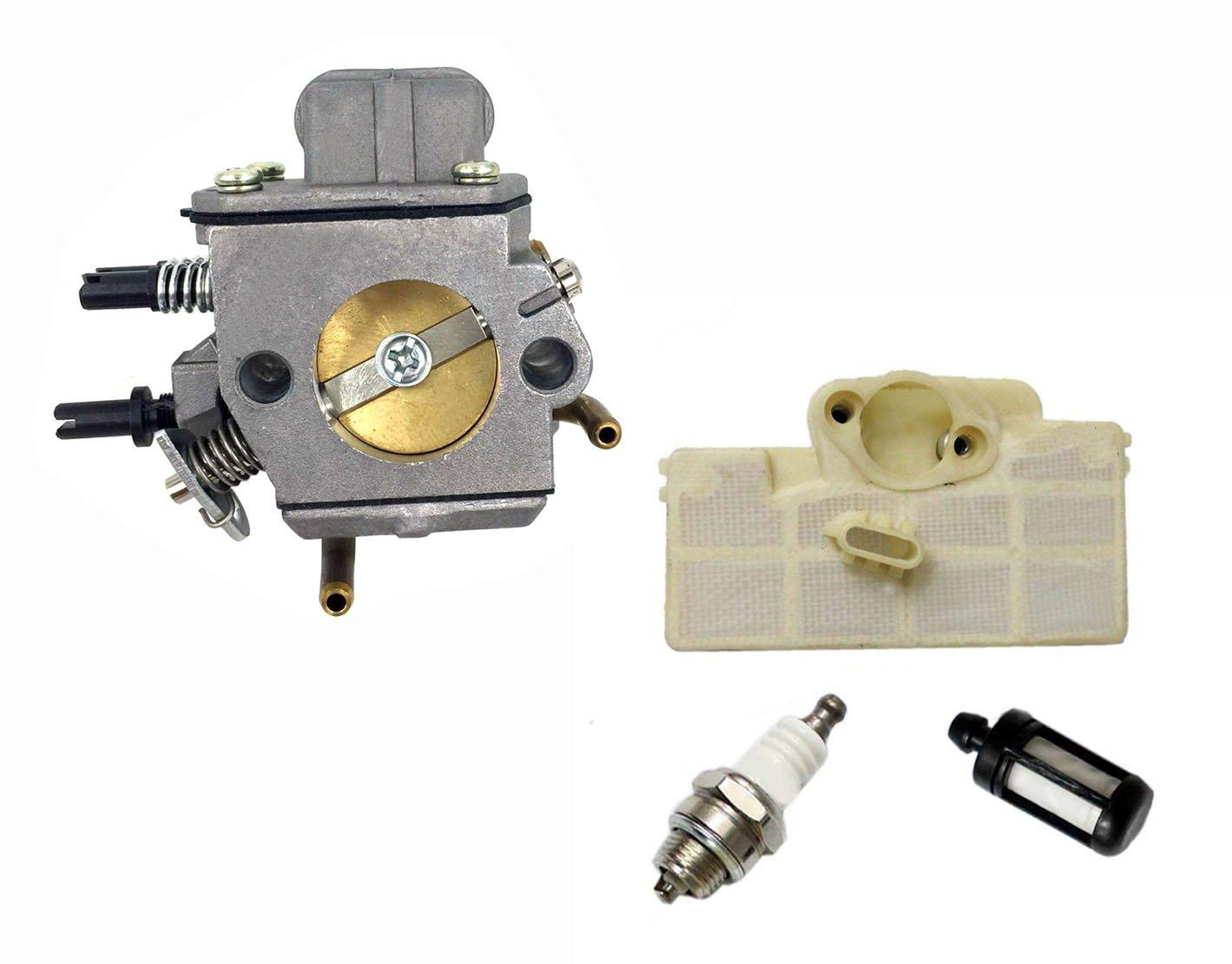 hooai nuevo carburador para bujías filtro de aire Filtro de ...