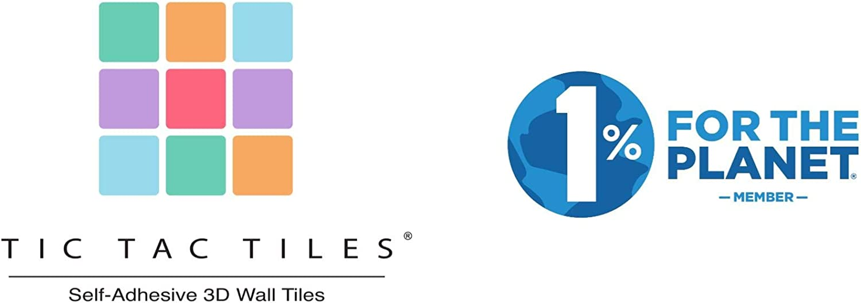 Tic Tac Tiles Peler anti-moisissure et brancher Tuile de mur Dans Polito pinceaux 5 10 x 10 Marbre Beige; Giallo Beige; Gris clair; Marbre gris; Brique rustique Rouge