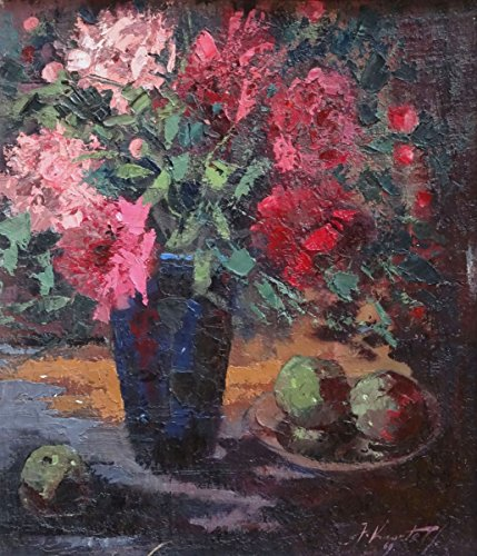 (Still life with peonies)
