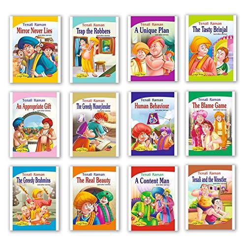 Buy Tenali Raman Story book Set of 12 books (English) Book