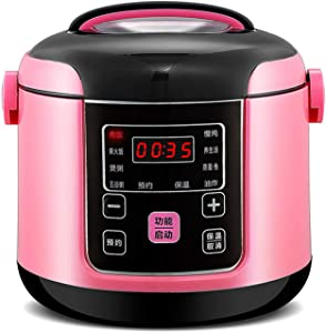8-in-1 Electric Pressure Cooker, Sterilizer, Slow Cooker, Rice Cooker, Steamer, Saute, Warmer, 2 Liters Large Capacity, 8 One-Touch Programs