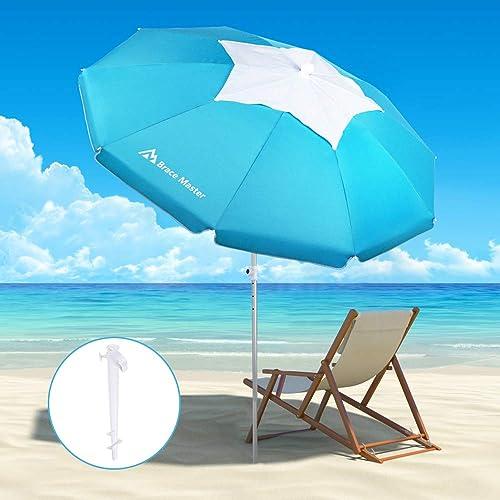 Brace Master 6.5ft Beach Umbrella