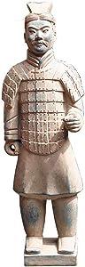 Terracotta Warrior Statue, Garden Ornament Terracotta Army Statue Chinese Terracotta Warriors The Large Standing Terracotta Army