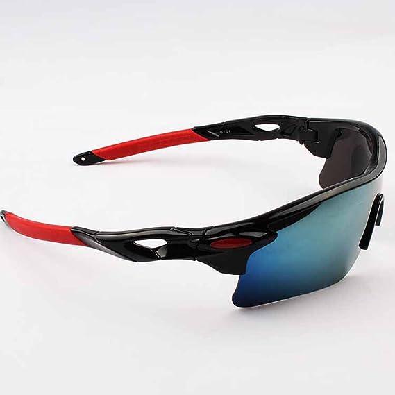 Jiele occhiali da sole da uomo, sport all' aperto, moda occhiali da sole, occhiali di protezione UV400per ciclismo pesca corsa sci, unisex, White