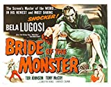 Bride of the Monster (1955) Movie Poster 24x36