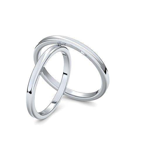 Anillos de matrimonio oro blanco precios
