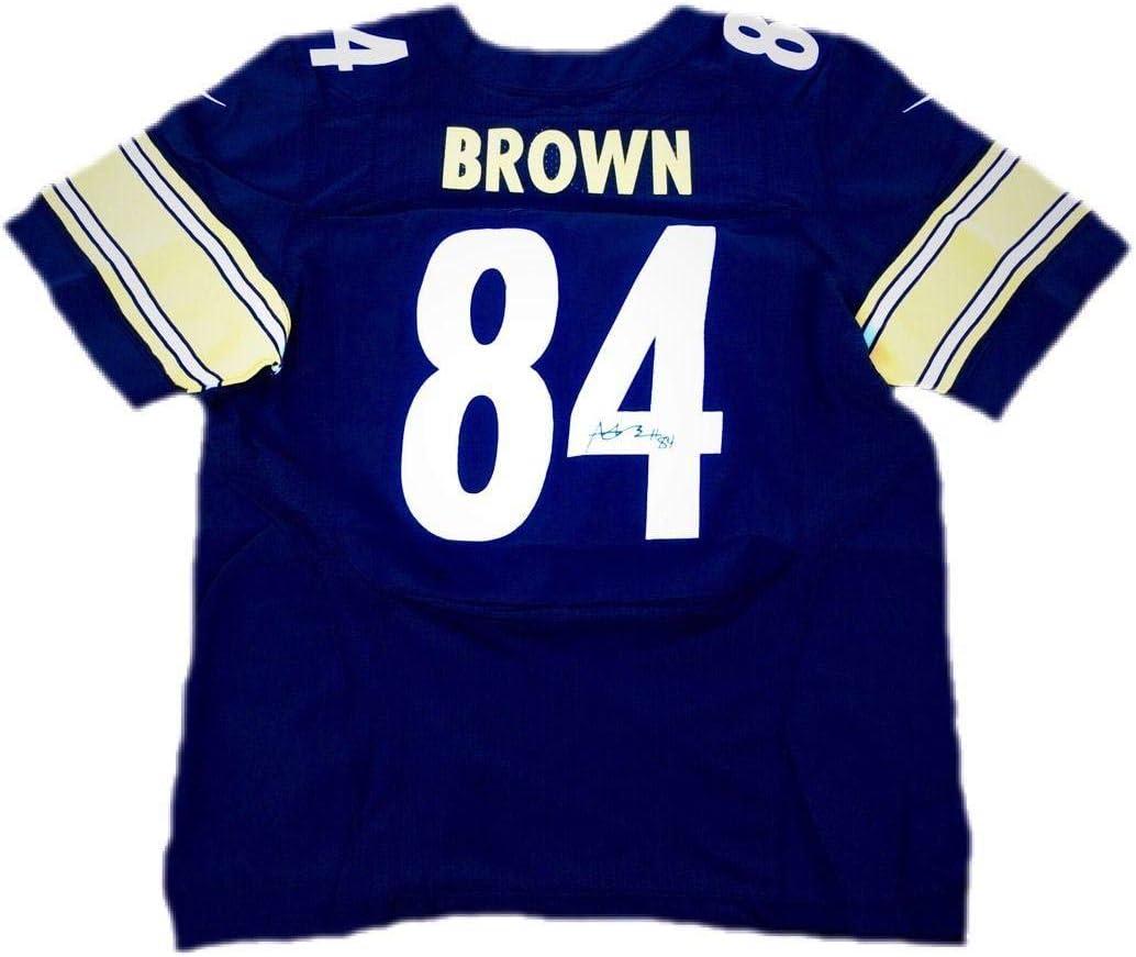 Antonio Brown Pittsburgh Steelers Home Black Signed Jersey JSA ...