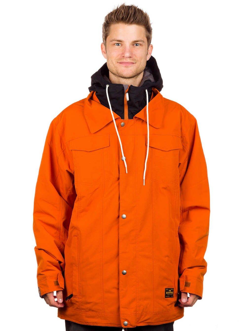 Sienna Blue Bonfire Morris Mens Snowboard Jacket