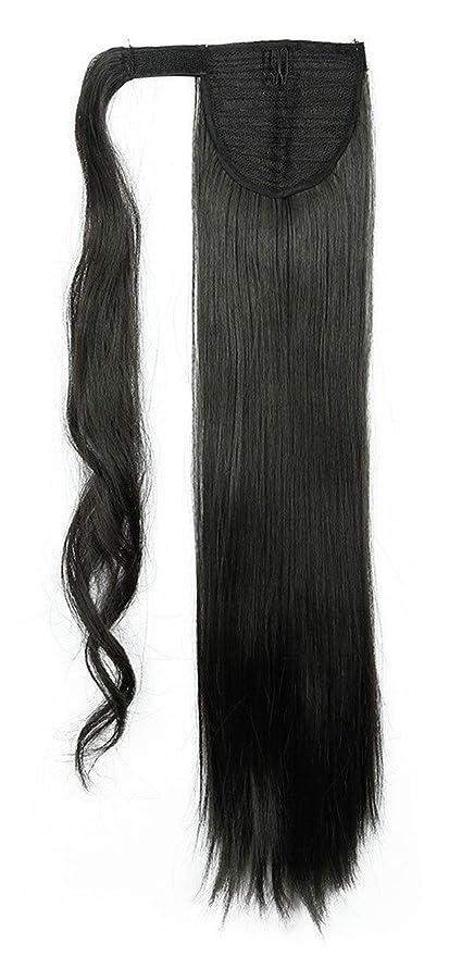 S-noilite® Wrap Around Ponytail Clip en extensiones de cabello One Piece Magic Paste