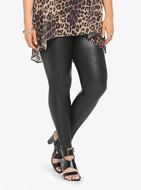 e8c0925cc47 Torrid Plus Size Faux Leather Leggings 0 Large  Amazon.ca  Clothing    Accessories