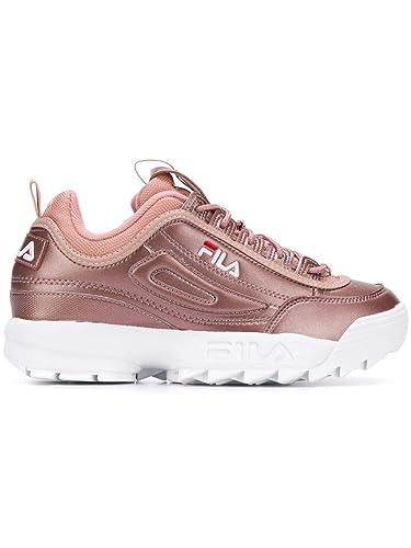 Fila 101044270X - Sneakers da Donna, in Pelle, Colore: Rosa ...