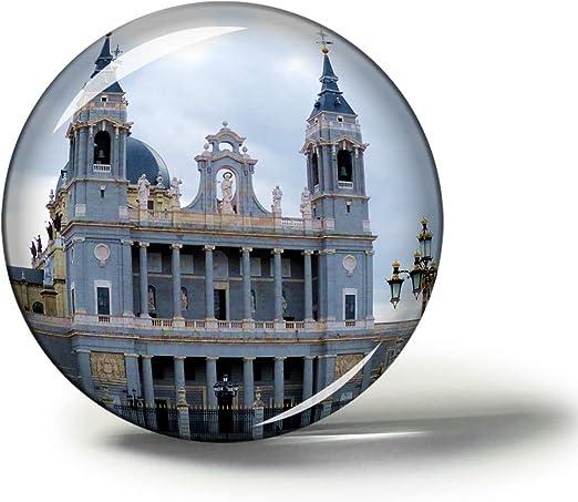 Hqiyaols Souvenir España Catedral de la Almudena Madrid Imanes ...