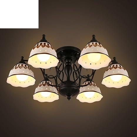 Techo país/ salón de cerámica simple lámpara/Dormitorio ...