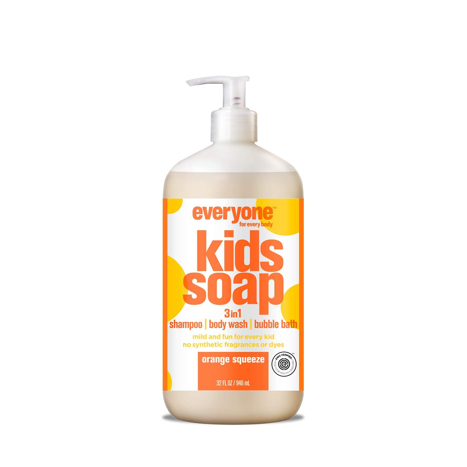 Soap for Every Kid, Orange Squeeze, 32 Ounce 2-Pack
