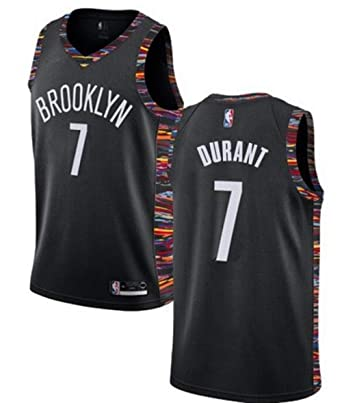 innovative design e20ed 03c1a VF LSG Men's Brooklyn Nets #7 Kevin Durant Jersey Black City Edition