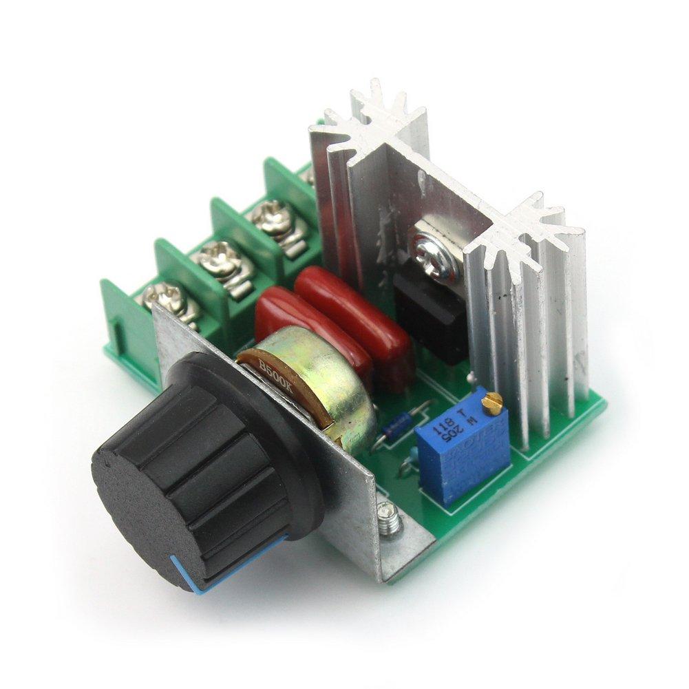 RHX New Adjustable Voltage Regulator PWM AC Motor Speed Control 50V-220V 2000W 10A SPHHQLF4747