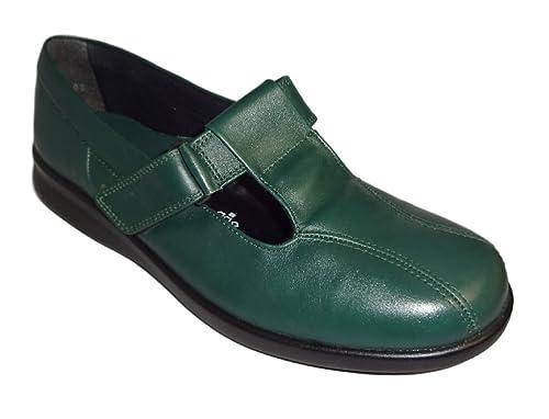 6174d8788927 Db Shoes Women s Rowena Velcro Shoes Pine Colour  Amazon.co.uk ...