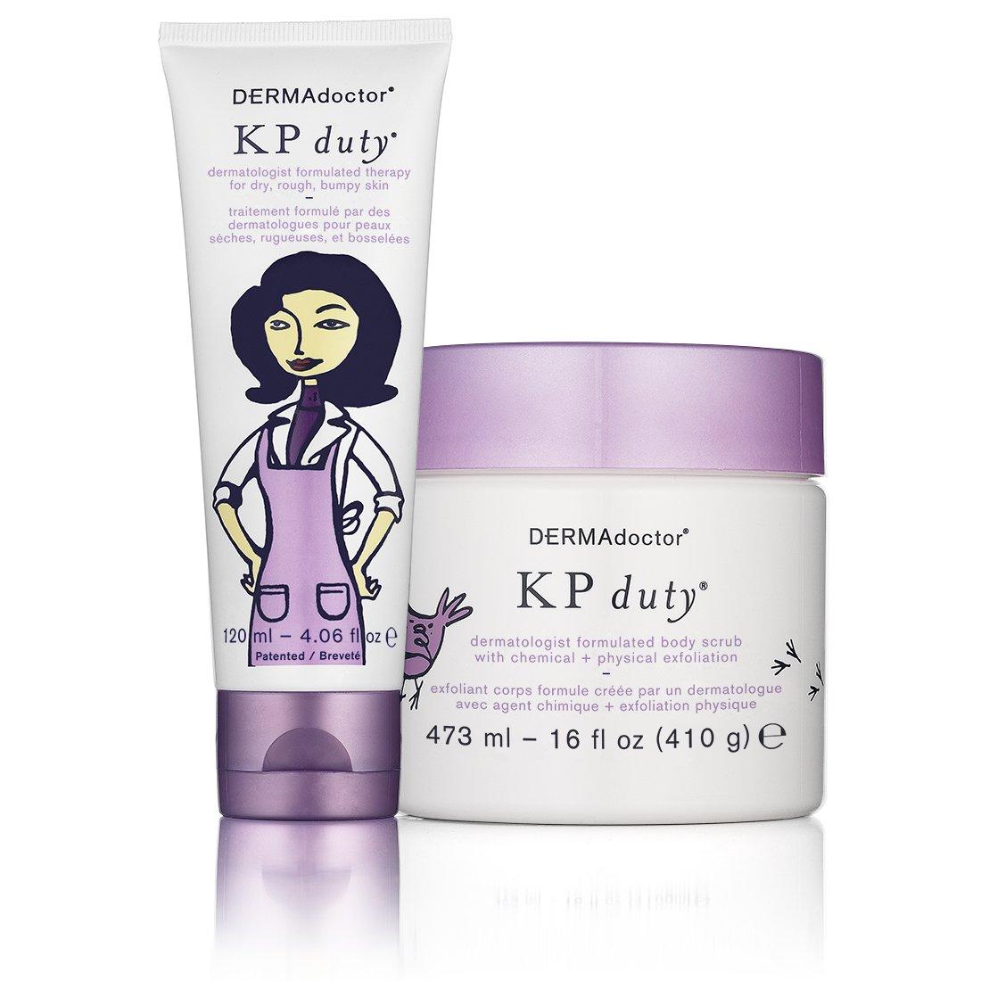 DERMAdoctor KP Duty Dry Skin Duo by DERMADoctor (Image #1)