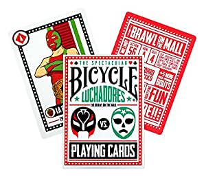 Amazon.com: Bicicleta Luchadores Juego de cartas: Sports ...