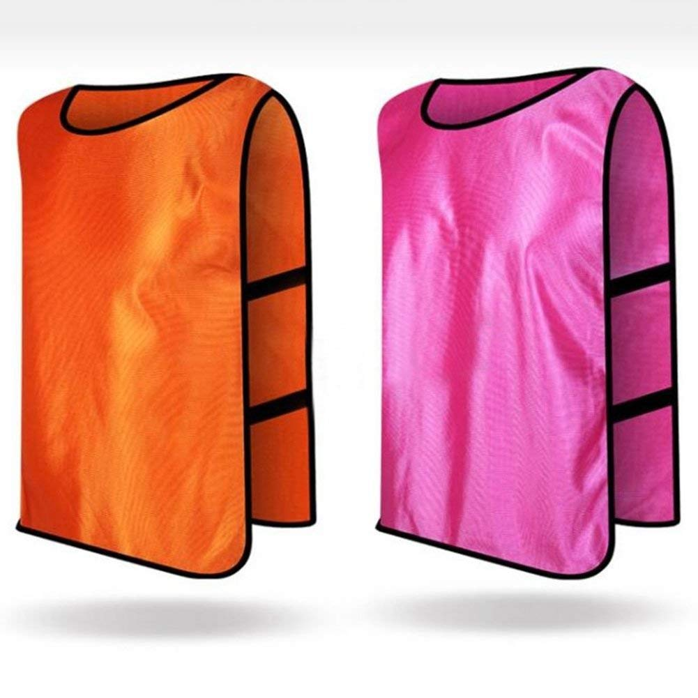 Yevison Sports Training Bibs Vests,Multi-Sport Quick-Drying Vest For Soccer Football Basketball Team Uniform Shirt Durable and Practical by Yevison (Image #4)