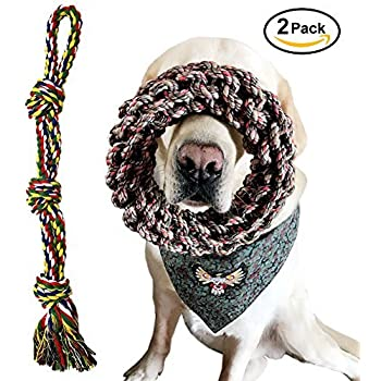 Pet Supplies : Extra Large Breed Dog Toys, Dog Rope Toys