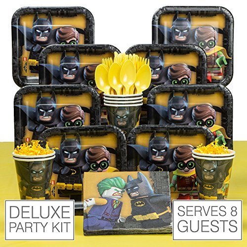 Lego Batman 8 Guest Party Pack