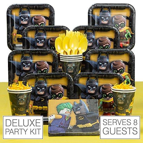 Lego Batman 8 Guest Party Pack