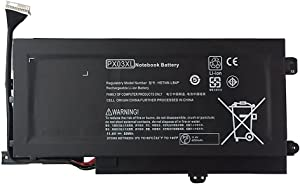 Batterymarket 11.25V 50Wh PX03XL Laptop Battery Compatible with HP Envy 14 Touchsmart Series M6
