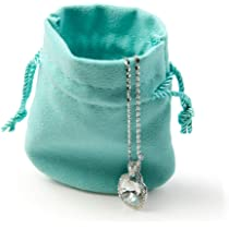 5x Jewelery bag gift pouch Drawstring Gift Bag pouches-VELVET wedding favors PG$